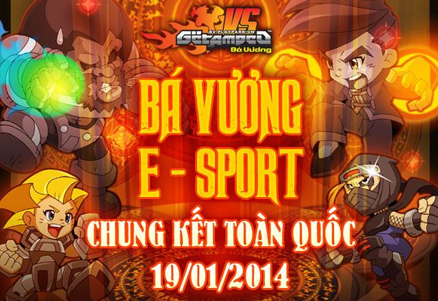 Khởi tranh vòng chung kết toàn quốc E-sports 2013 2