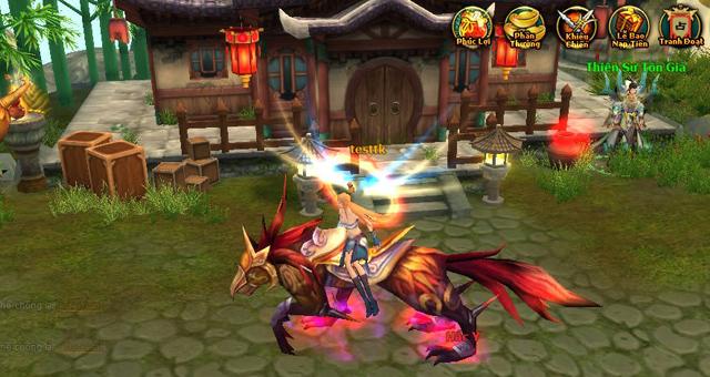 Người chơi Tiên Kỷ được tặng tiên kỵ cấp 5 miễn phí 2
