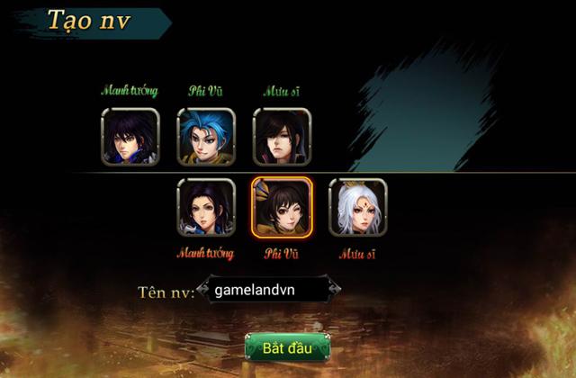 GameLand Mobile tặng 200 giftcode Đế Vương Mobile 2