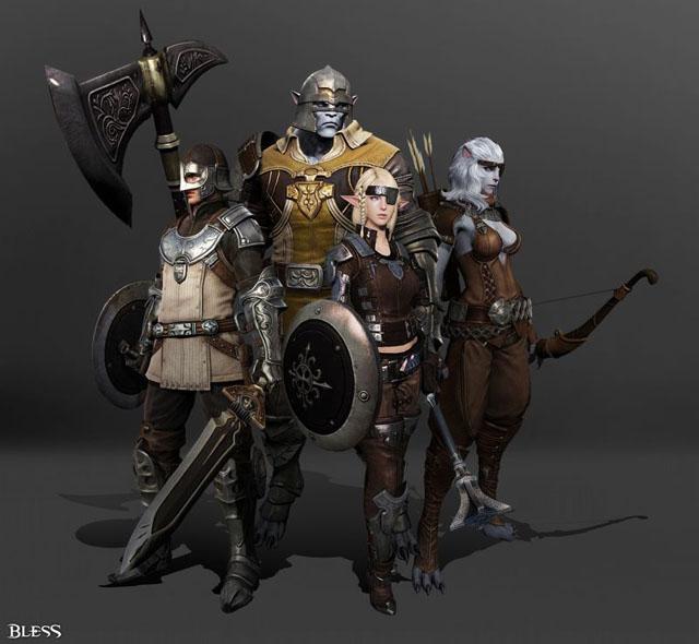 Neowiz Games hé lộ nhiều hình ảnh mới của Bless 14