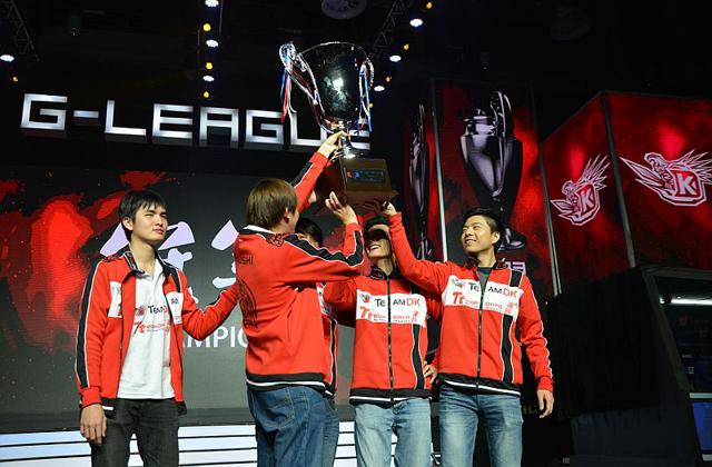 Dota 2: DK đăng quang vô địch G-League 2013 1
