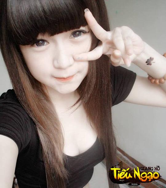 Cộng đồng xôn xao vì hot girl Tiếu Ngạo Giang Hồ Mobile 1