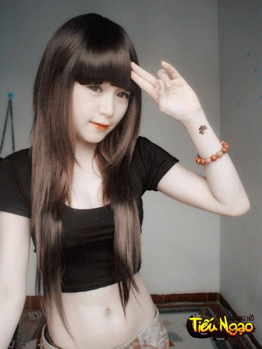 Cộng đồng xôn xao vì hot girl Tiếu Ngạo Giang Hồ Mobile 2