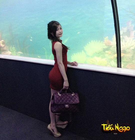 Cộng đồng xôn xao vì hot girl Tiếu Ngạo Giang Hồ Mobile 3
