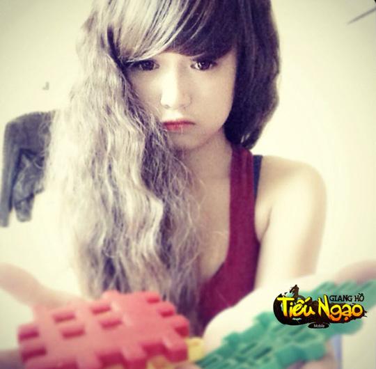 Cộng đồng xôn xao vì hot girl Tiếu Ngạo Giang Hồ Mobile 6