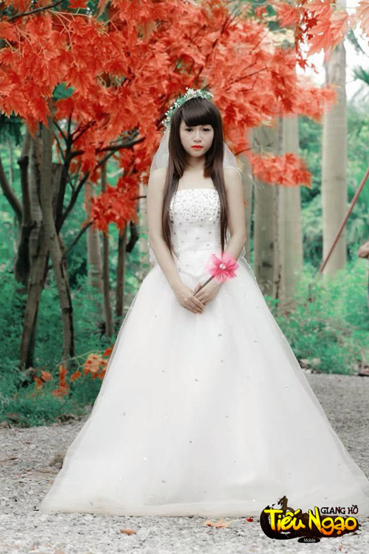 Cộng đồng xôn xao vì hot girl Tiếu Ngạo Giang Hồ Mobile 12