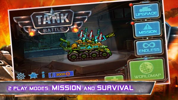 Divmob hé lộ về trò chơi mới Tank Battle 2