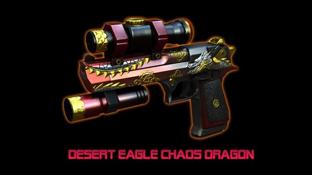 Chiêm ngưỡng bộ vũ khí Chaos Dragon trong Đột Kích 4