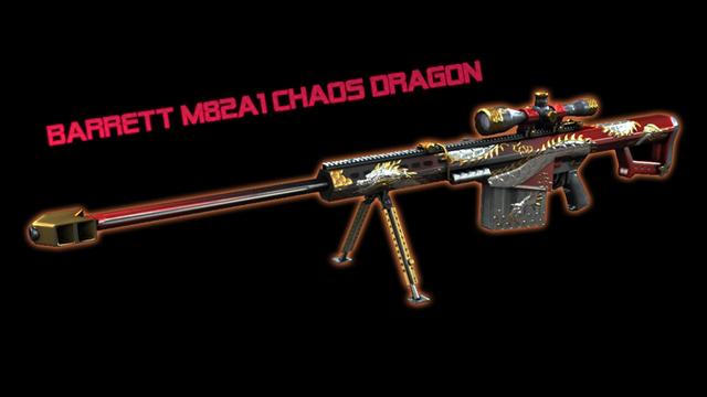 Chiêm ngưỡng bộ vũ khí Chaos Dragon trong Đột Kích 1