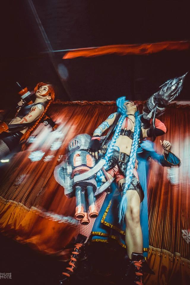 Ngắm cosplay Jinx tại LGR New Year Party 2014 - Ảnh 2