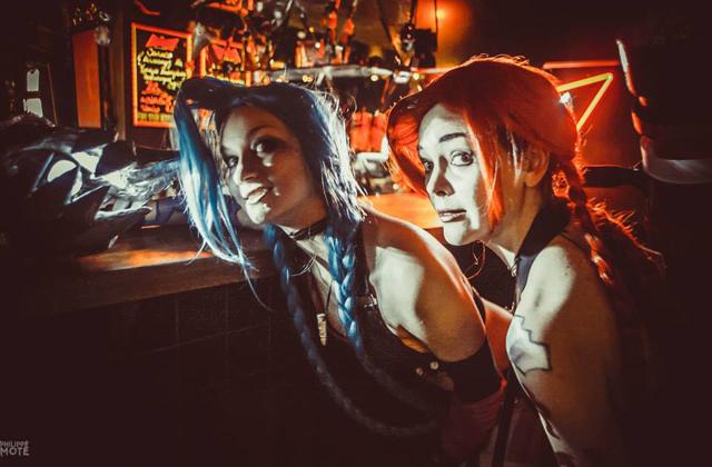 Ngắm cosplay Jinx tại LGR New Year Party 2014 - Ảnh 4
