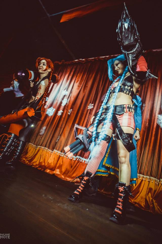 Ngắm cosplay Jinx tại LGR New Year Party 2014 - Ảnh 7
