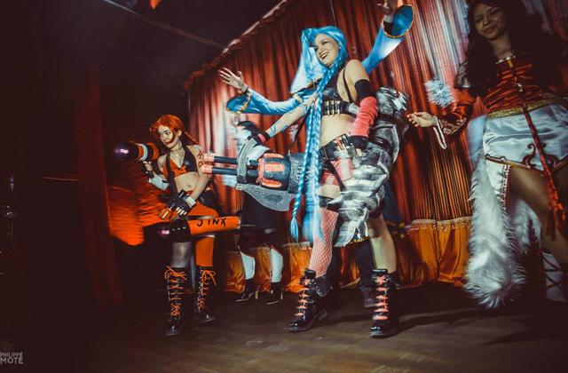 Ngắm cosplay Jinx tại LGR New Year Party 2014 - Ảnh 10