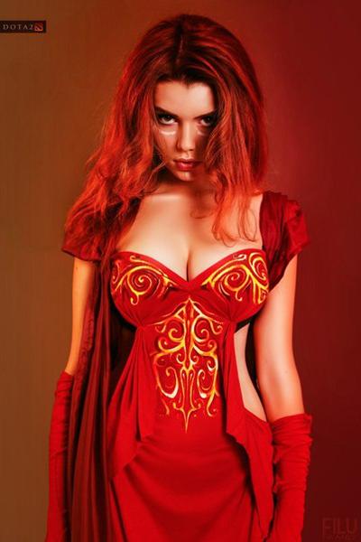 Dota 2: Đầu xuân ngắm cosplay Lina - Ảnh 4