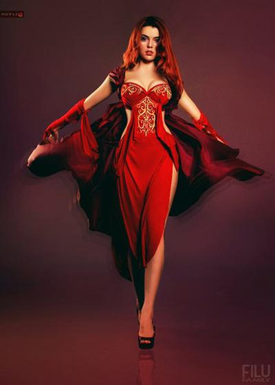 Dota 2: Đầu xuân ngắm cosplay Lina - Ảnh 5