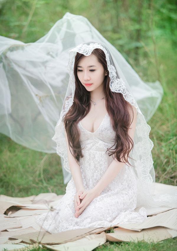 """Hot girl Cầu Trường Rực Lửa hóa thành """"cô dâu ma mị"""" - Ảnh 7"""