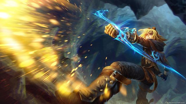 Lộ diện splash art mới của Jarvan IV và Ezreal 1