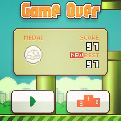 Năm lời khuyên giúp bạn đạt điểm cao với Flappy Bird 5