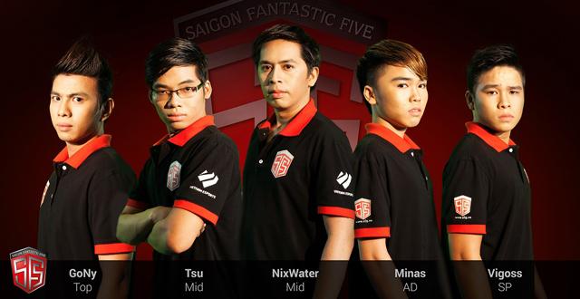 SF5 công bố đội hình tham gia GPL Mùa Xuân 2014 1