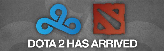 Cloud 9 thành lập đội tuyển Dota 2 2