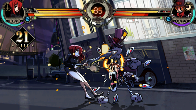 Skullgirls Encore có mặt trên PSN từ ngày 11/02 11