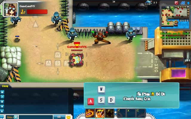 Tamtay mở cửa thử nghiệm webgame Tank Tank 3