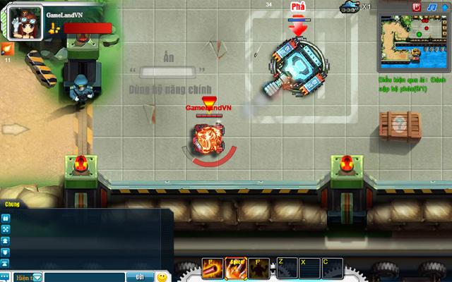 Tamtay mở cửa thử nghiệm webgame Tank Tank 4