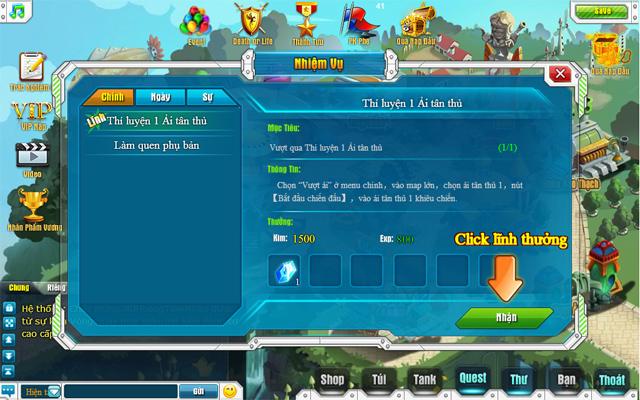 Tamtay mở cửa thử nghiệm webgame Tank Tank 6