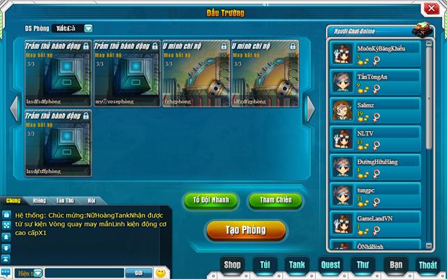 Tamtay mở cửa thử nghiệm webgame Tank Tank 7