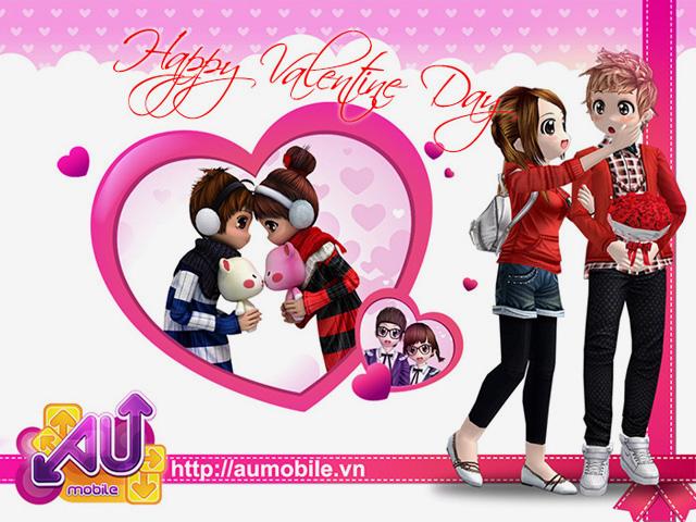 Au Mobile mừng 10 triệu cho mỗi cặp đôi đón Valentine 1