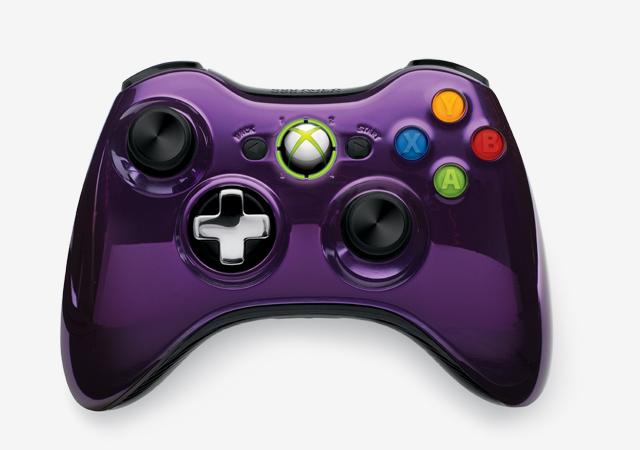 Microsoft hé lộ về tay cầm Xbox 360 phiên bản đặc biệt