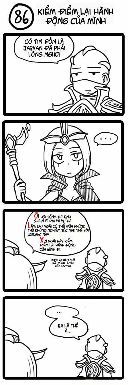 Comic Liên Minh Huyền Thoại: Tập 85   89