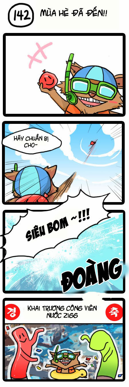 Comic Liên Minh Huyền Thoại: Tập 139   143
