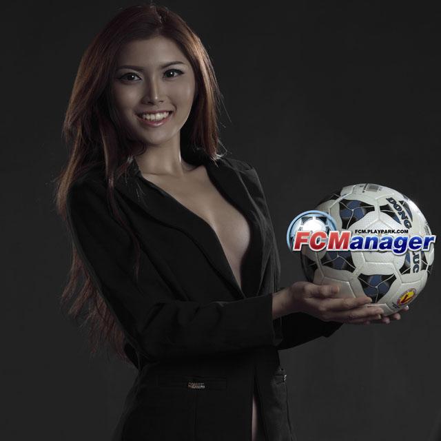Ngắm hướng dẫn viên xinh đẹp của FC Manager 2