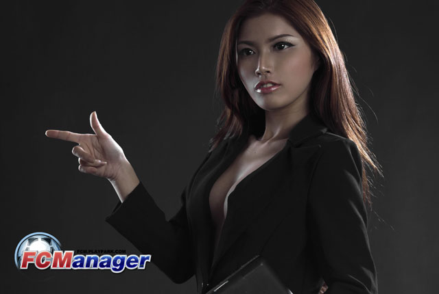 Ngắm hướng dẫn viên xinh đẹp của FC Manager 5
