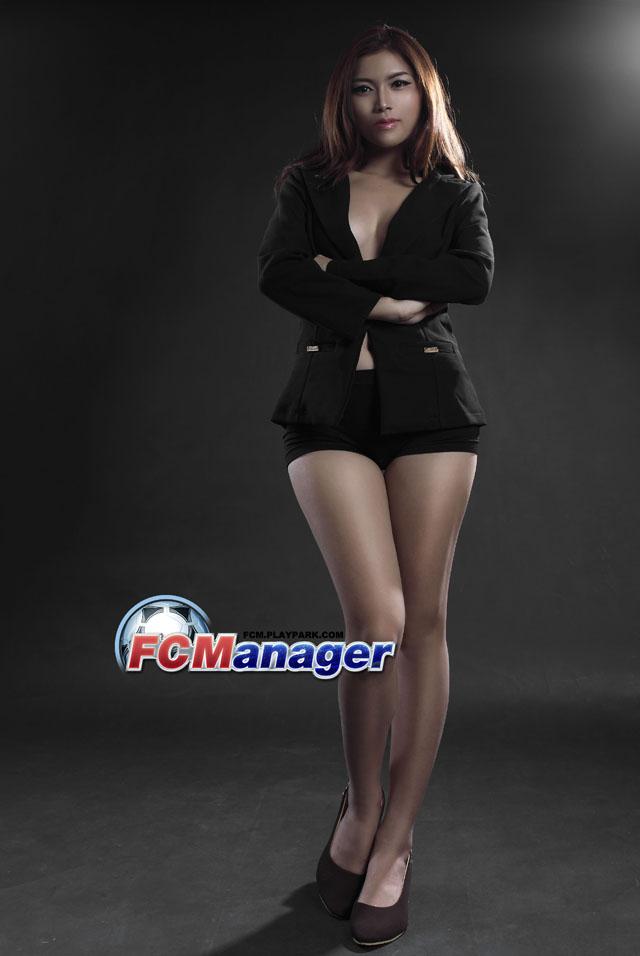 Ngắm hướng dẫn viên xinh đẹp của FC Manager 7