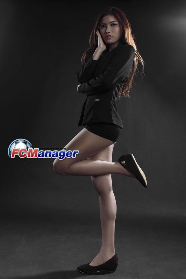 Ngắm hướng dẫn viên xinh đẹp của FC Manager 11