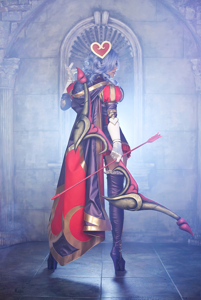 Tasha quyến rũ với cosplay Ashe Mũi Tên Tình Ái - Ảnh 3