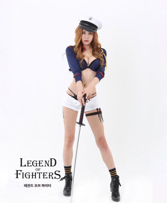 Cosplay Legend of Fighters quyến rũ của Park So Yu - Ảnh 3