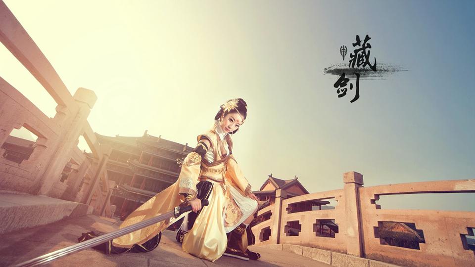 Đầu năm ngắm cosplay Tàng Kiếm cực quyến rũ - Ảnh 9