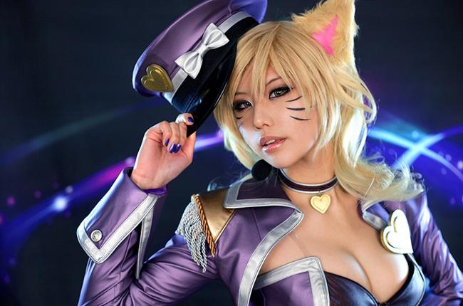 Bộ ảnh cosplay Ahri cực hấp dẫn của Spiral Cats - Ảnh 3