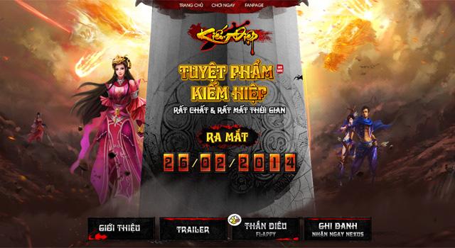 FGame phát hành webgame Kiếm Điệp tại Việt Nam 2
