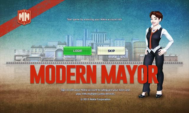 Nokia đưa Modern Mayor lên Windows Phone Store 1