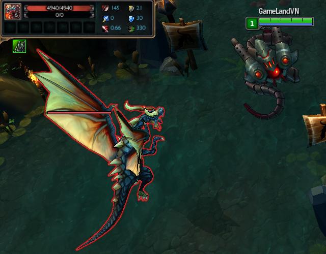 Riot phục hồi lại sát thương của rồng trong PBE 5