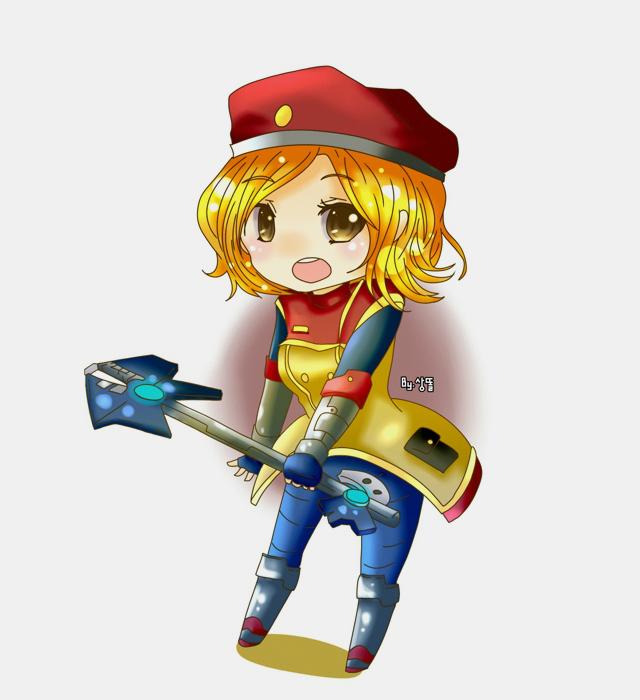 Tranh vẽ dễ thương của các tướng nữ LMHT - Ảnh 3
