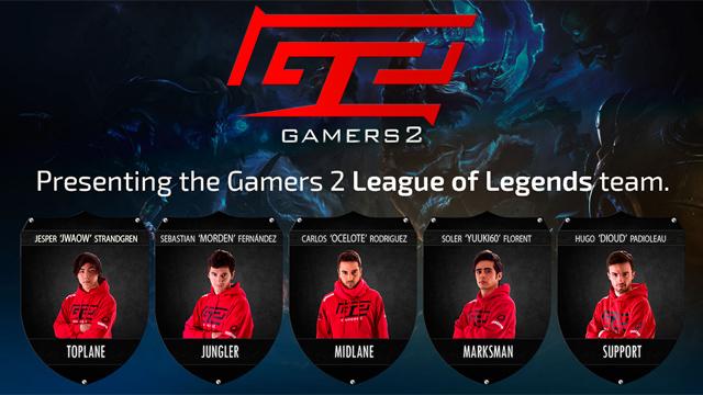LMHT: Ocelote thành lập đội tuyển Gamers 2 1