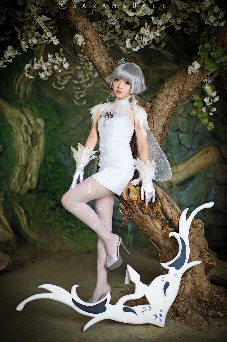 Tomia siêu dễ thương với cosplay Ranger trong Aion - Ảnh 3