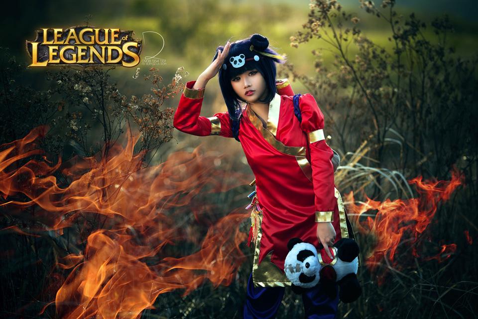 Vy Khanh dễ thương với cosplay Annie - Ảnh 4