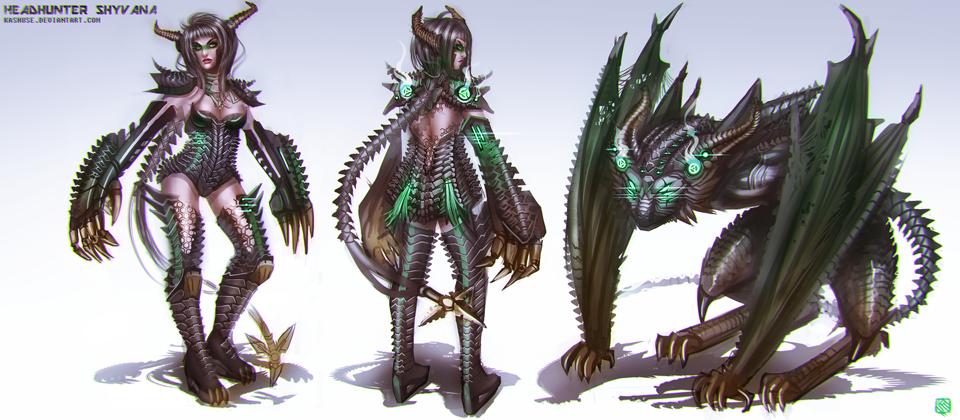 Ngắm trang phục LMHT siêu ấn tượng của Kashuse - Ảnh 6
