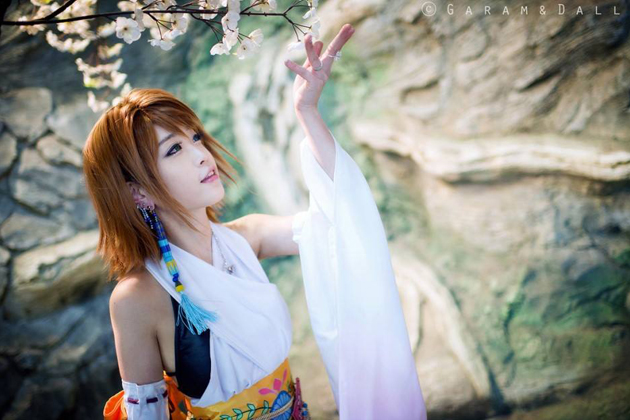 Tomia cực dễ thương với cosplay Yuna - Ảnh 7
